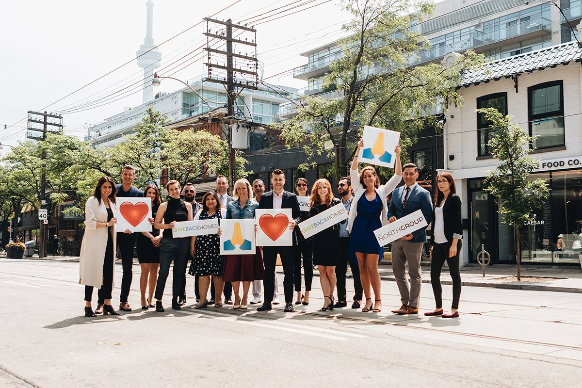 North Group launches Canada's first partnership with Giveback Homes